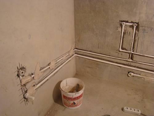 Как правильно сделать воду в ванной